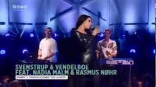 Zulu awards 2013 - Svenstrup & Vendelboe, Nadia Malm og Rasmus Nøhr