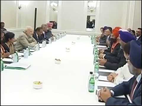 Sikh delegations from USA & Canada meet PM Narendra Modi