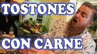 How To Make Tostones Con Carne