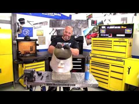 HECTOR'S SHOP: Small Aluminum Repair Jobs