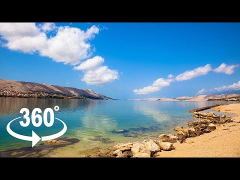 ISLAND OF PAG — CROATIA | 360º VR | Pointers Travel