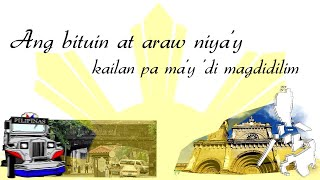 Philippine National Anthem: Lupang hinirang