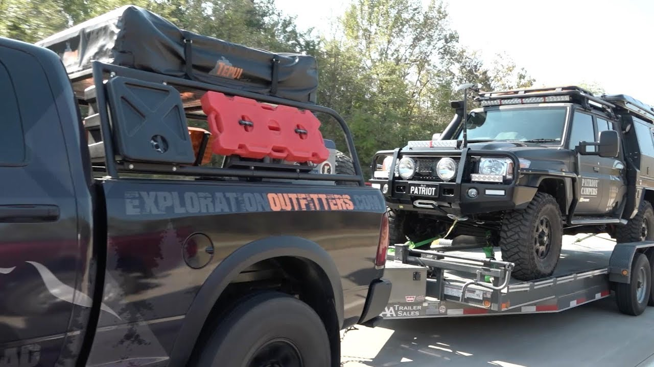 Patriot Campers - Visit Overland Expo East 2017 North Carolina, USA with  the LC79 Black Truck