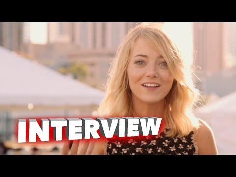 "Aloha: Emma Stone ""Allison Ng"" Behind the Scenes Movie Interview"