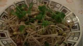 Bean Sprouts With Chinese Bacon  (authentic Chinese Recipe)