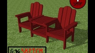 Chief's Shop Sketch Of The Day: Outdoor Chairs With Table