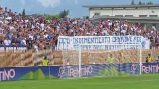 Bayern - Brescia 3-0 09/07/13 Ultras Brescia dedicano striscione per Pep Guardiola