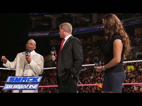 Theodore Long, Stephanie McMahon and John Laurinaitis create history: SmackDown, Oct. 10, 2014