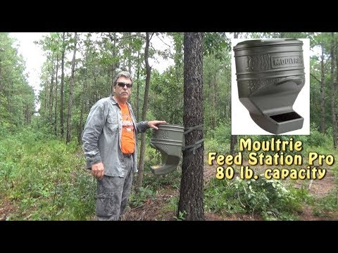 top ez tripod solar best the on mind a deer rangermade gallon one panel such moultrie get w feeders as classic feeder fill battery set your with if is good