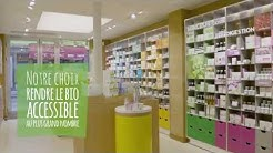 Boutique Fleurance Nature à Paris : cosmétique certifiée bio, compléments alimentaires bio et aroma