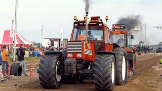 Boerensport Klasse   Trekkertrek Dirksland 2015   Tractorpulling