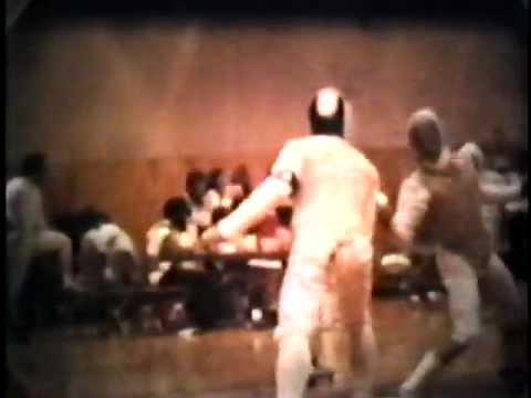 College Fencing 1978 Air Force vs Wisconsin