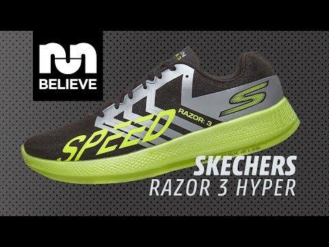 Agotar lavanda Estrella  Skechers GOrun Razor 3 Hyper Video Performance Review - YouTube