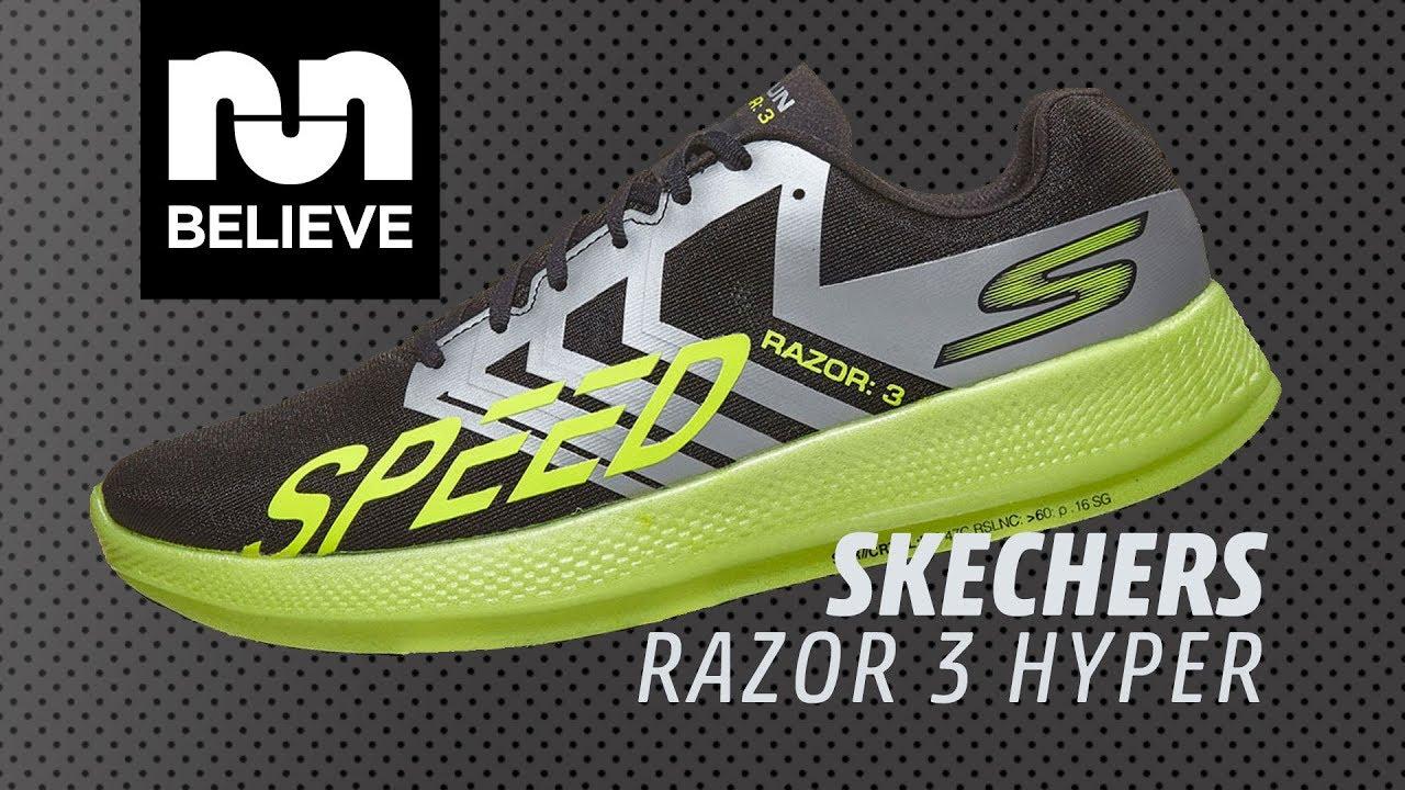 Skechers GOrun Razor 3 Hyper Video Performance Review YouTube