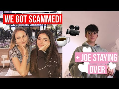 A Day In The Life Of A Teenage Youtuber -Yazonline & I got scammed + Filming w// Livvy & Lewys