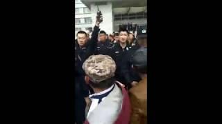 内蒙古兴安盟科尔沁右翼前旗警察打牧民