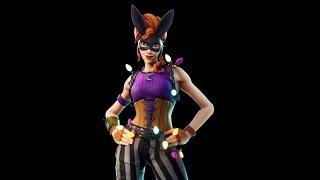 FORTNITE: NEW Bunny Moon Skin Gameplay!!!