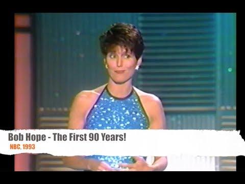 Lucie Arnaz honors Bob Hope  - 1993