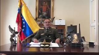 بالفيديو: الملحق العسكري الفنزويلي في واشنطن يعلن انشقاقه عن نظام مادورو