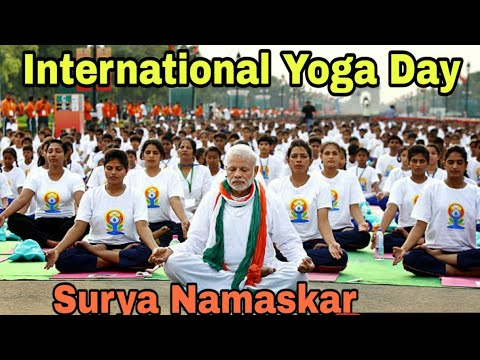 how to do surya namaskar  international yoga day 2020