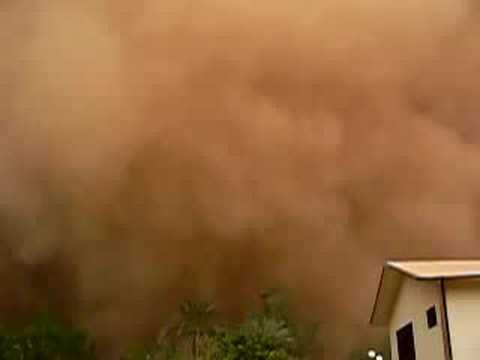 Haboob in Khartoum, Sudan