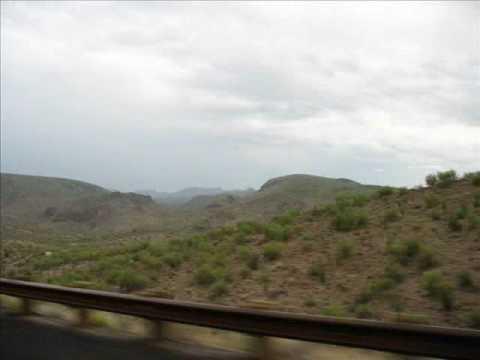 Arizona - Highway 93 from Boulder Dam to Wickenberg