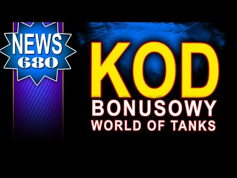 Kod bonusowy do World of Tanks - NEWS