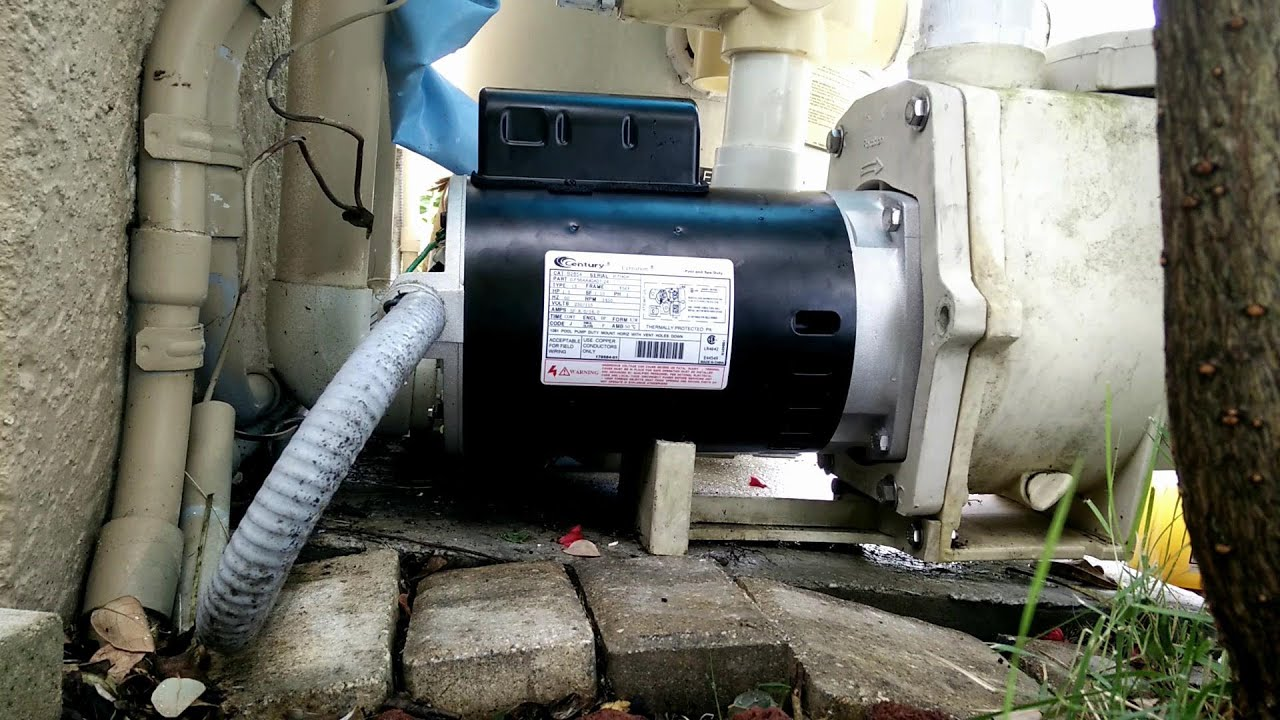 How To Install Remove Replace A Pool Pump Motor Youtube