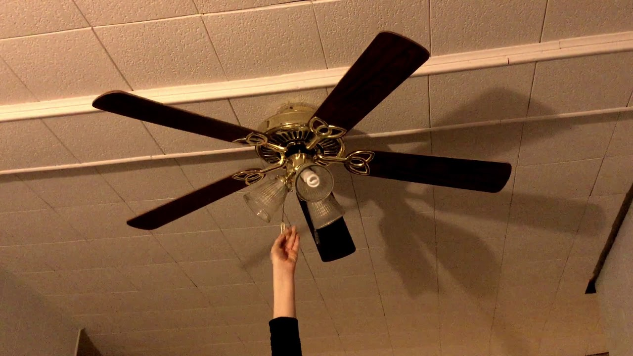 Encon Vintage Ceiling Fan At My Aunts House Western Youtube