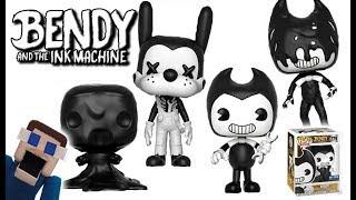 Bendy and the Ink Machine Funko Pop EXCLUSIVE Pictures Action Figures Set Gamestop Ink Demon Monster