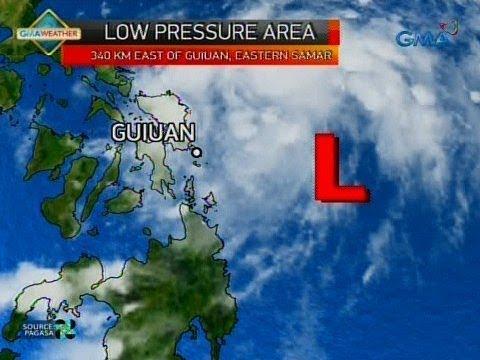 24 Oras: Low Pressure Area, posibleng tumawid ng Visayas at maging bagyo