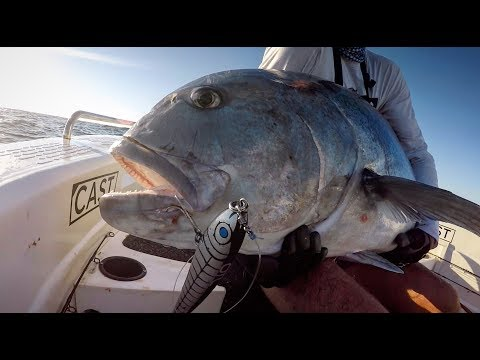 FISHING FOR MONSTER GT IN AUSTRALIA!! FEAT. THE BUSTER.