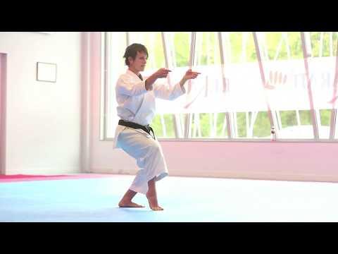 Karaté : entraînement avec l'équipe de France Kata