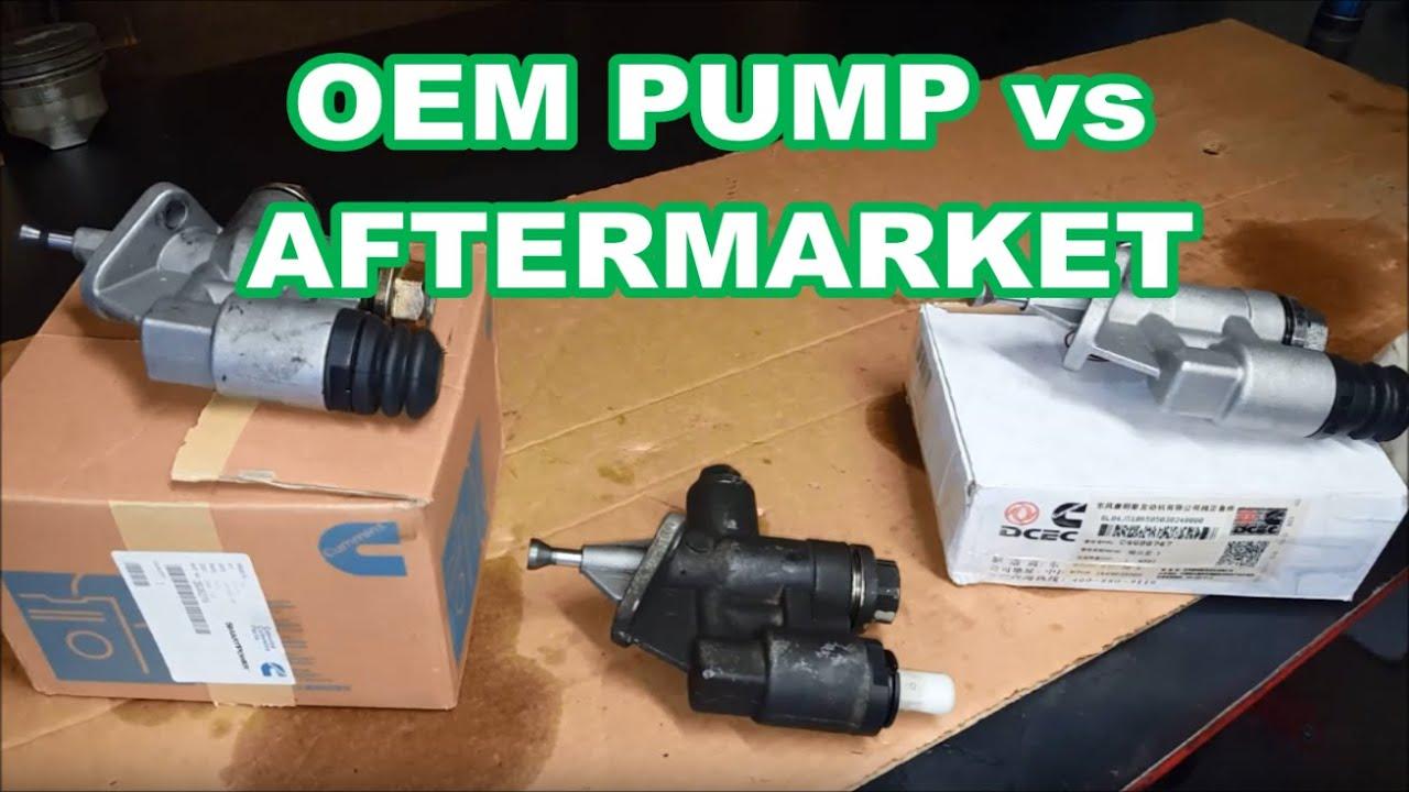 Ebay Carter fuel pump vs DCEC vs OEM differences 12v Cummins Dodge