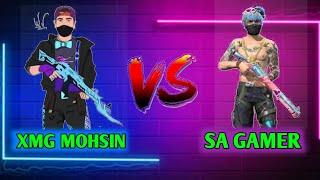 SA GAMER VS XMG MOHSINFull Custom X MOHSIN GAMER Vs SA Gamer