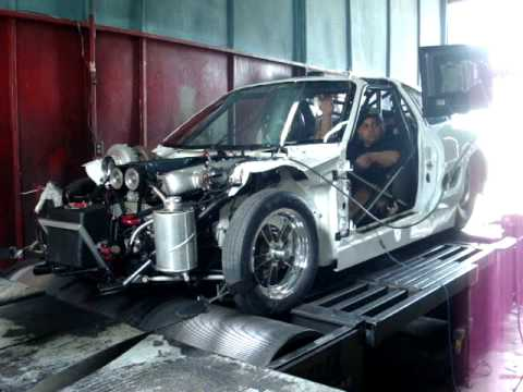 Only God MR 2 dyno 1,161hp @ 40psi by Forty Motorsports