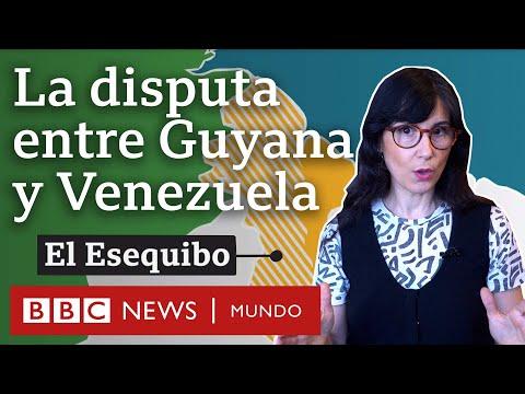 El Esequibo, el territorio que enfrenta a Venezuela y Guyana desde hace casi dos siglos | BBC Mundo