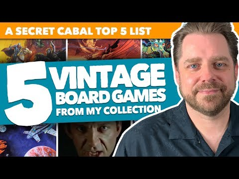 5 Vintage Board Games That Are Fabulous