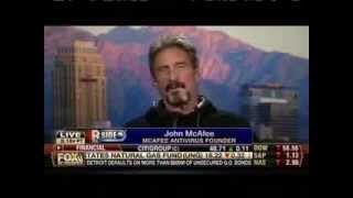 John McAfee on Obamacare: