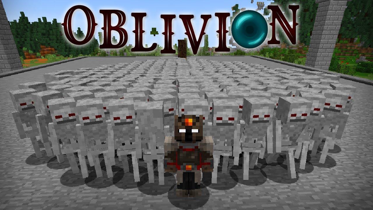 Hice un EJERCITO de 300 ESQUELETOS | Oblivion #4