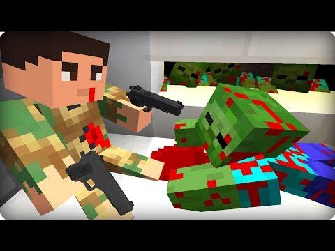 Он пожертвовал собой ради нас [ЧАСТЬ 46] Зомби апокалипсис в майнкрафт! - (Minecraft - Сериал)