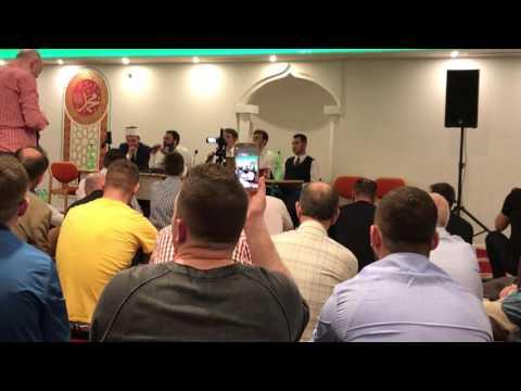 Hafiz - Adem Ramadani ne Xhami Tribune Islame ne St. Gallen Live. Pjesa e 2.