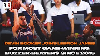 Devin Booker Hits Wild Game-Winner Over Paul George & Kawhi Leonard|Bleacher Report