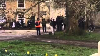 Downton Abbey final series filming Bampton