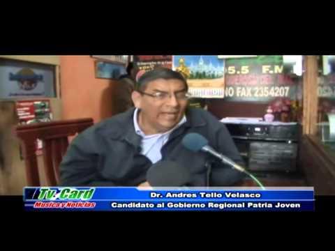 Entrevista Andrés Tello Radio Frecuencia Mix - Barranca
