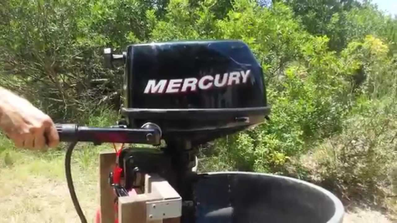 Mercury 5HP Tohatsu 5HP Outboard Annual Service Overview