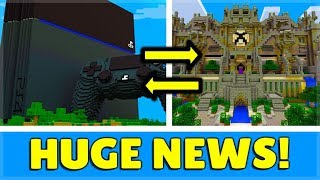 Minecraft PS4 Bedrock - This Is HUGE News Sony Crossplay & This Is Why!