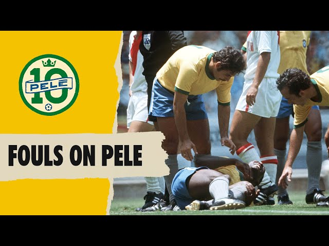 Crazy Fouls On Pele | FIFA World Cup