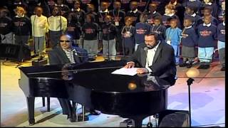 Peace Wanted Just To Be Free - L. Pavarotti & S. Wonder