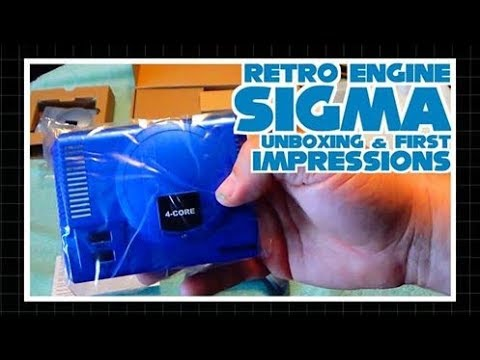 RetroEngine Sigma Unboxing & First Impressions